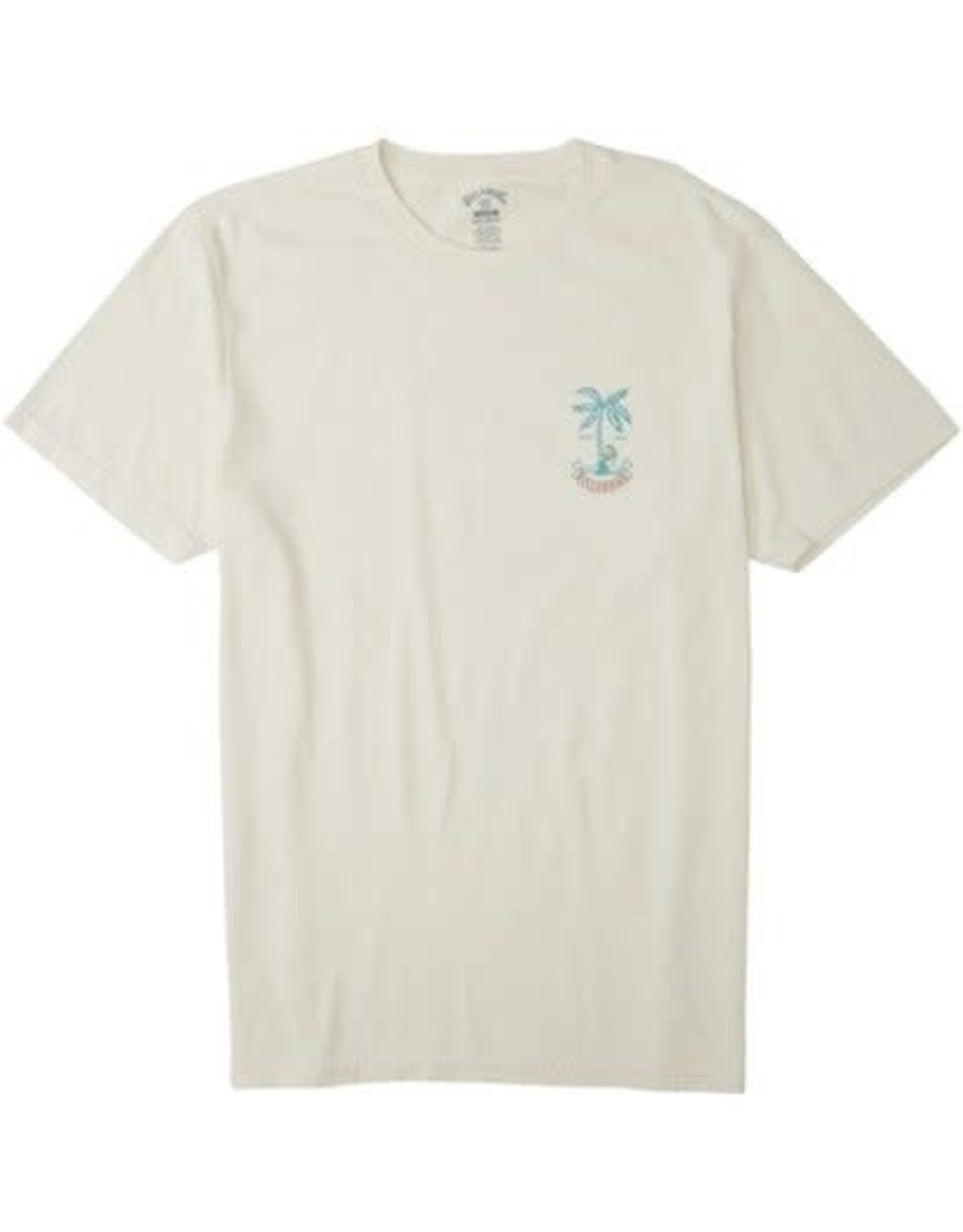 billabong Billabong - T-shirt homme lady palm off white