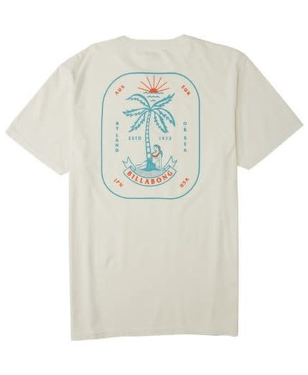 Billabong - T-shirt homme lady palm off white