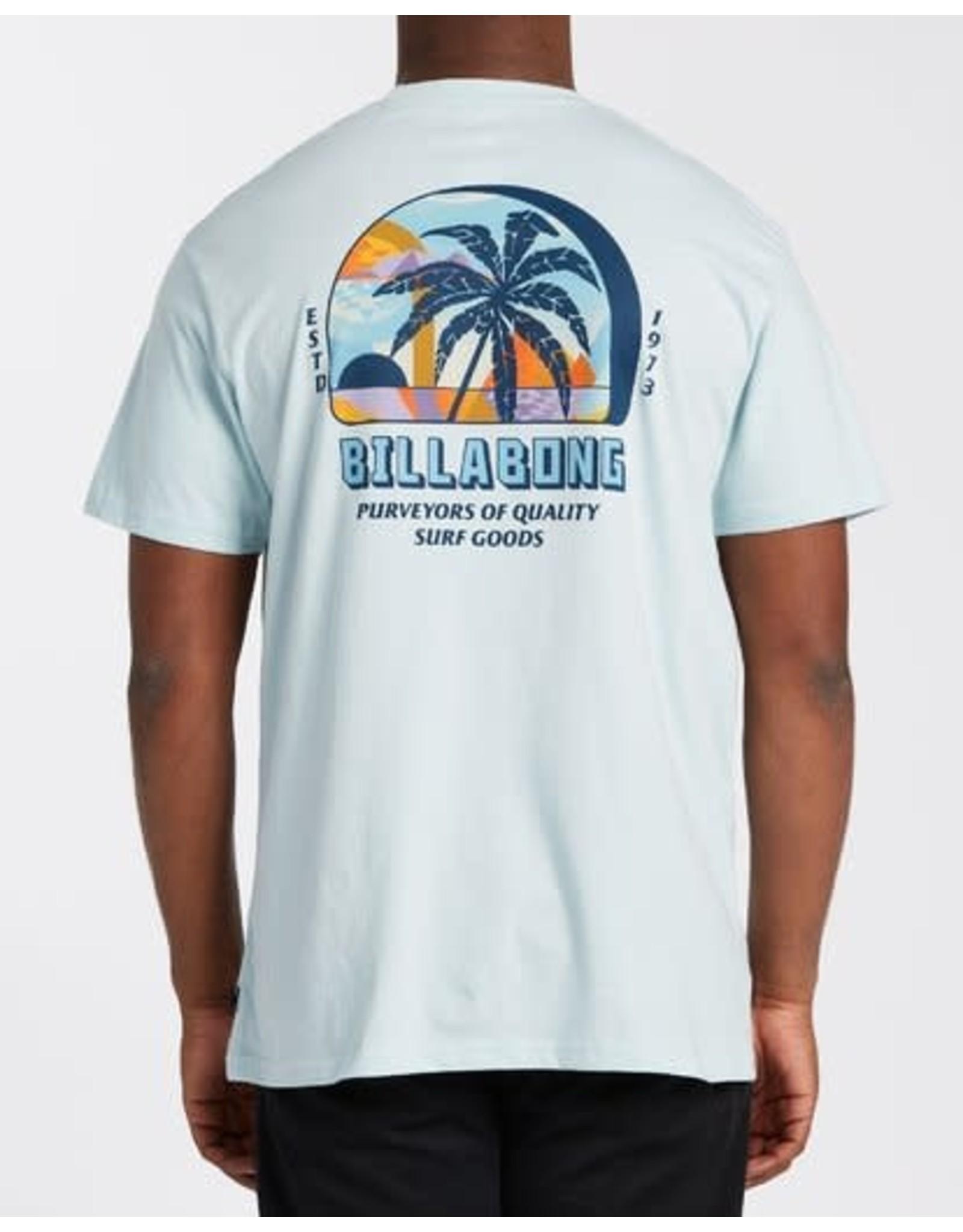 billabong Billabong - T-shirt homme palmas coastal blue