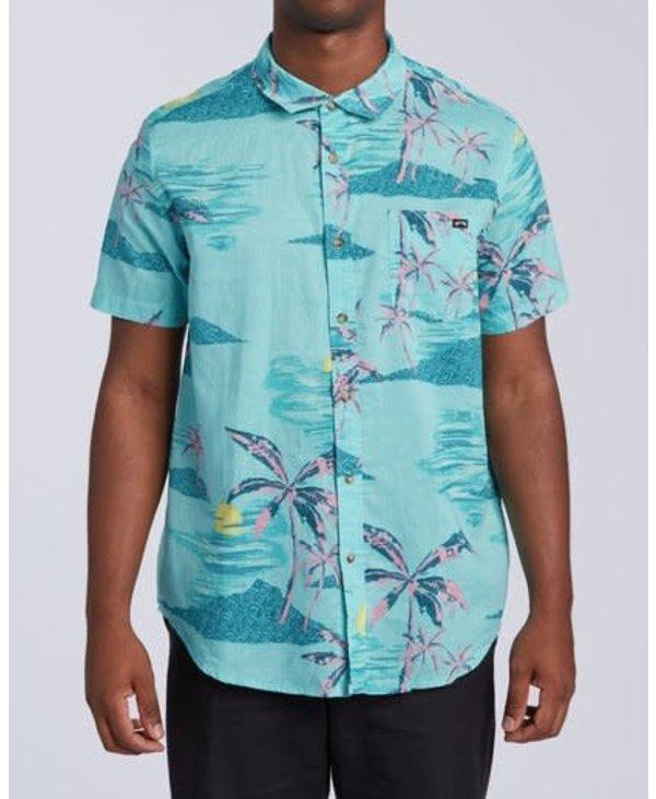 Billabong - Chemise homme sundays floral mint