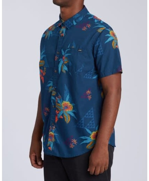 Billabong - Chemise homme sundays floral navy