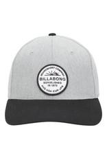 billabong Billabong - Casquette homme walled snapback grey heather