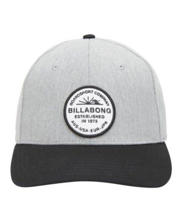 Billabong - Casquette homme walled snapback grey heather