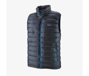 Patagonia - Veste homme down sweater smolder blue/andes blue