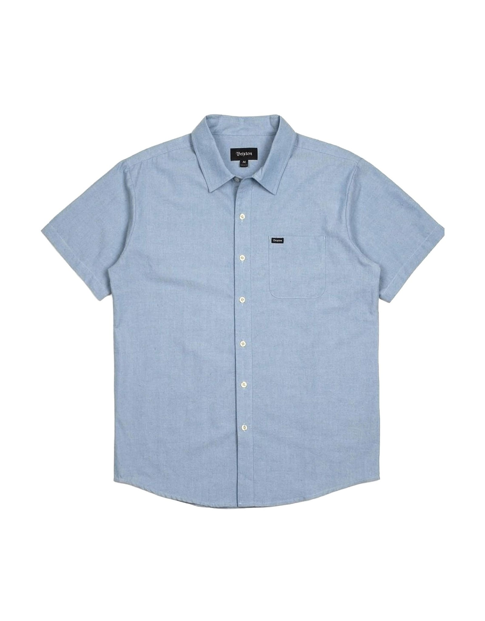 Brixton Brixton - Chemise homme charter oxford light blue chambray