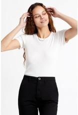 Brixton Brixton - T-shirt femme samatha baby white