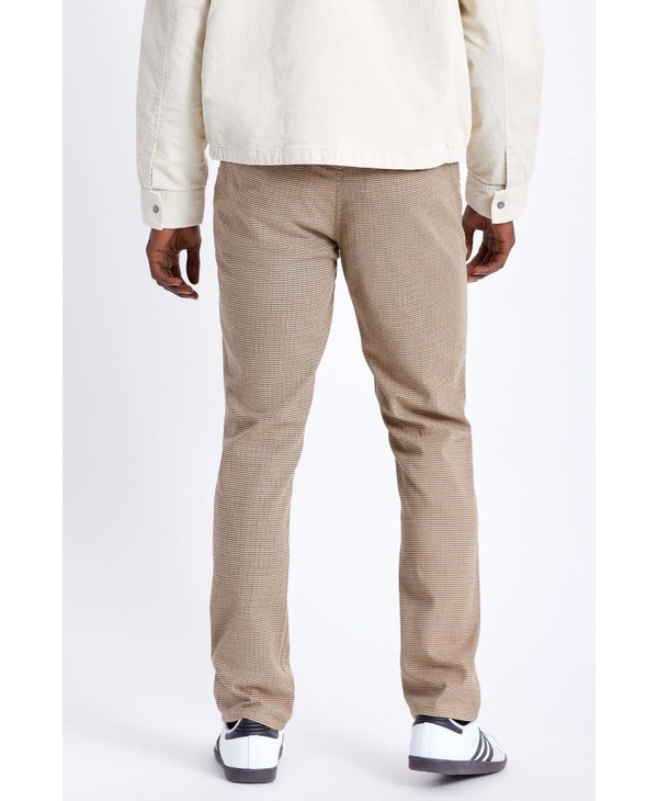 Brixton - Pantalon homme choice chino vanilla houndstooth