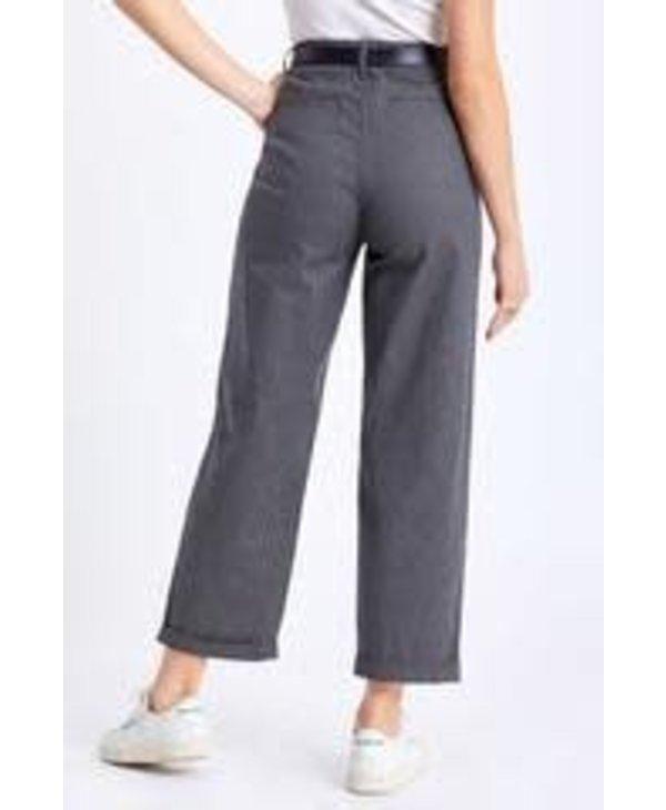Brixton - Pantalon femme victory trouser black/grey