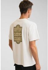 rhythm Rhythm - T-shirt homme wood block vintage white
