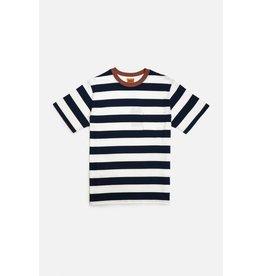 rhythm Rhythm - T-shirt homme everyday stripe navy