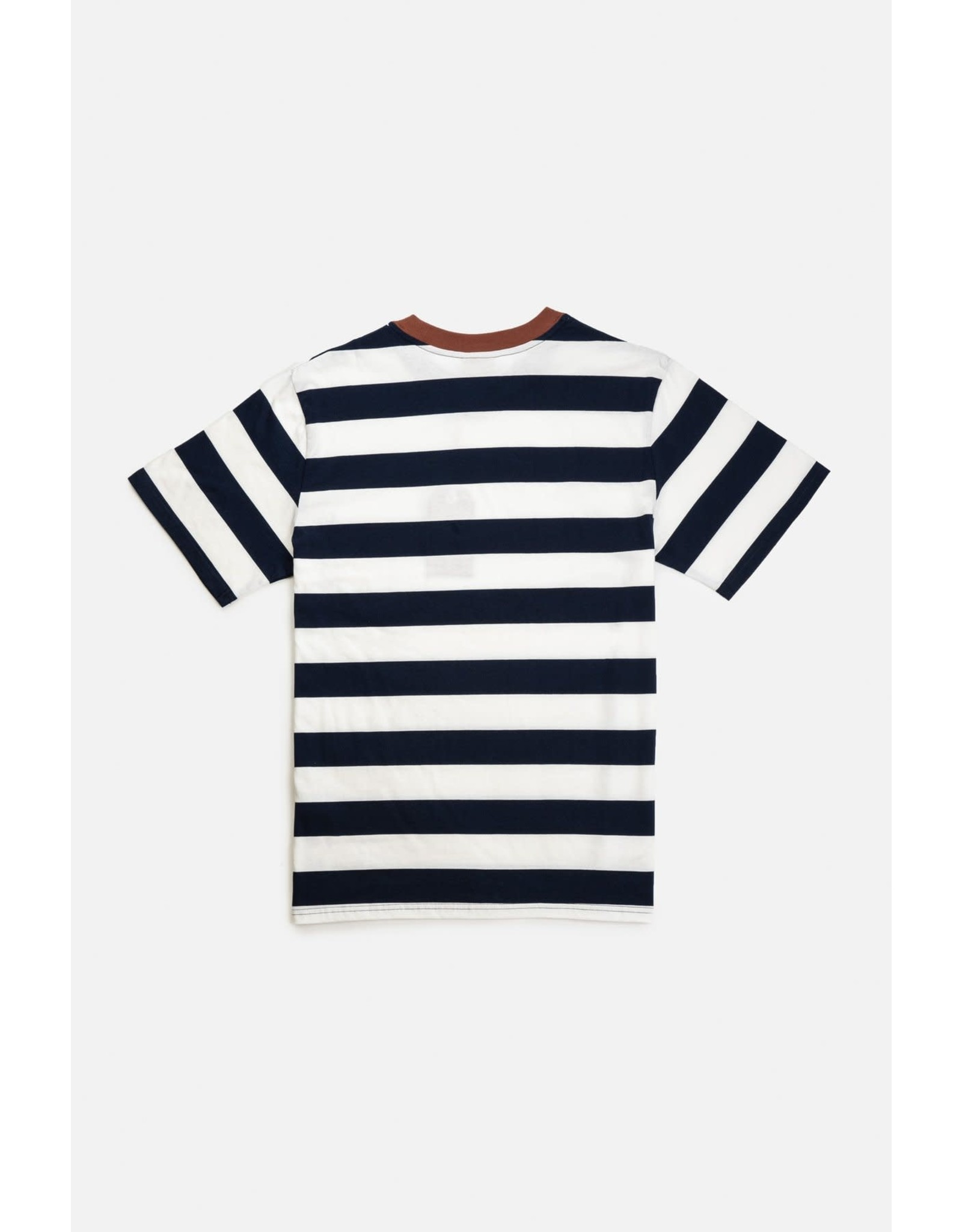 rhythm Rhythm - T-shirt homme everyday stripe navy