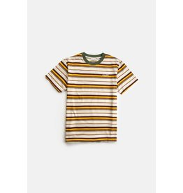 rhythm Rhythm - T-shirt homme everyday stripe natural
