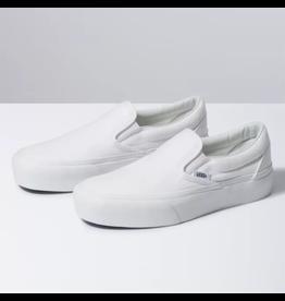 vans Vans - Soulier femme classic slip-on true white