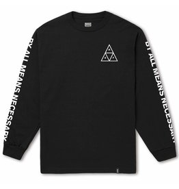 huf Huf - Chandail long homme essentials tt black
