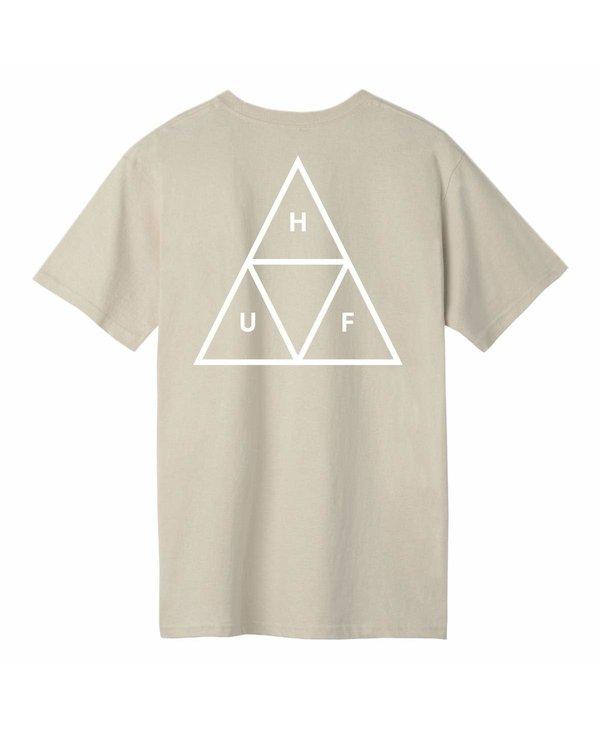 Huf - T-shirt homme essentials tt natural