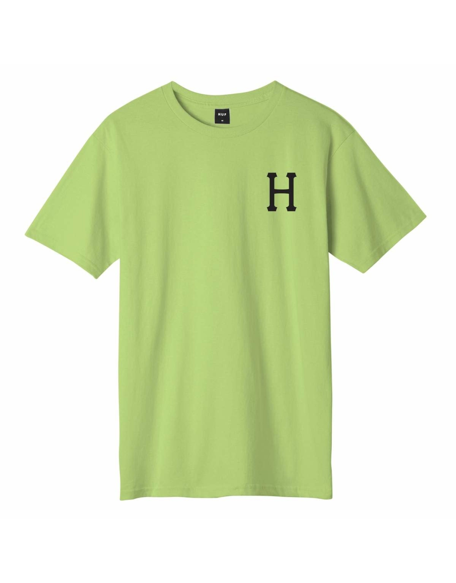 huf Huf - T-shirt homme essentials classic h lime