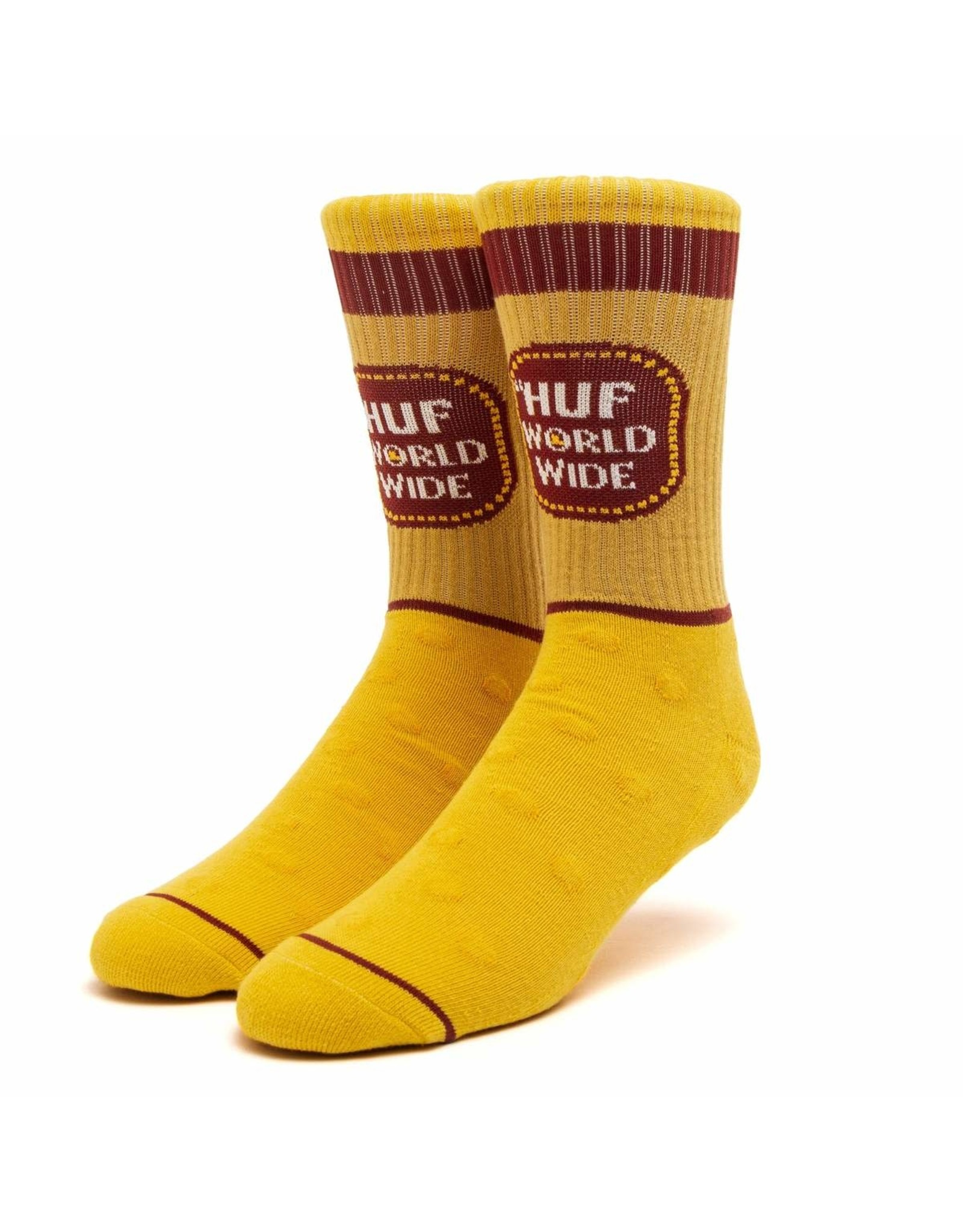 huf Huf - Bas homme brown bag yellow