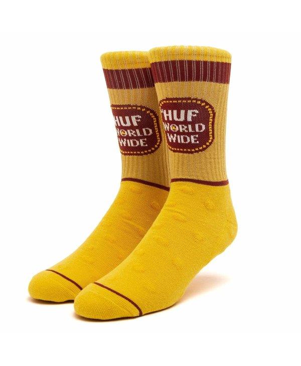 Huf - Bas homme brown bag yellow