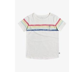 Roxy - T-shirt junior bali dreams snow white