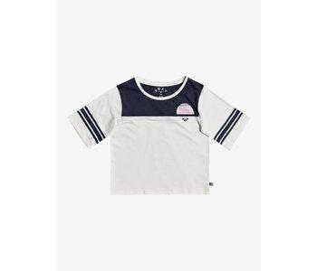 Roxy - T-shirt junior champa flower mood indigo