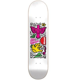 almost Almost - Skateboard skateistan sky doodle r7 white