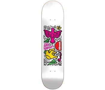 Almost - Skateboard skateistan sky doodle r7 white
