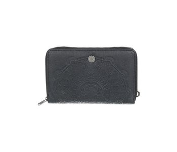 Roxy - Portefeuille femme back in brooklyn anthracite
