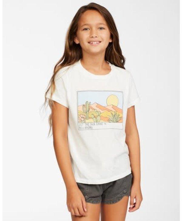 Billabong - T-shirt junior sunny skies salt crystal