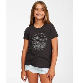 billabong Billabong - T-shirt junior good waves off black