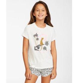 billabong Billabong - T-shirt junior wild cat salt crystal