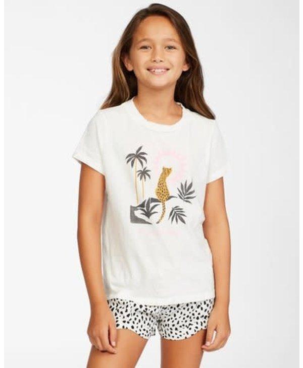 Billabong - T-shirt junior wild cat salt crystal