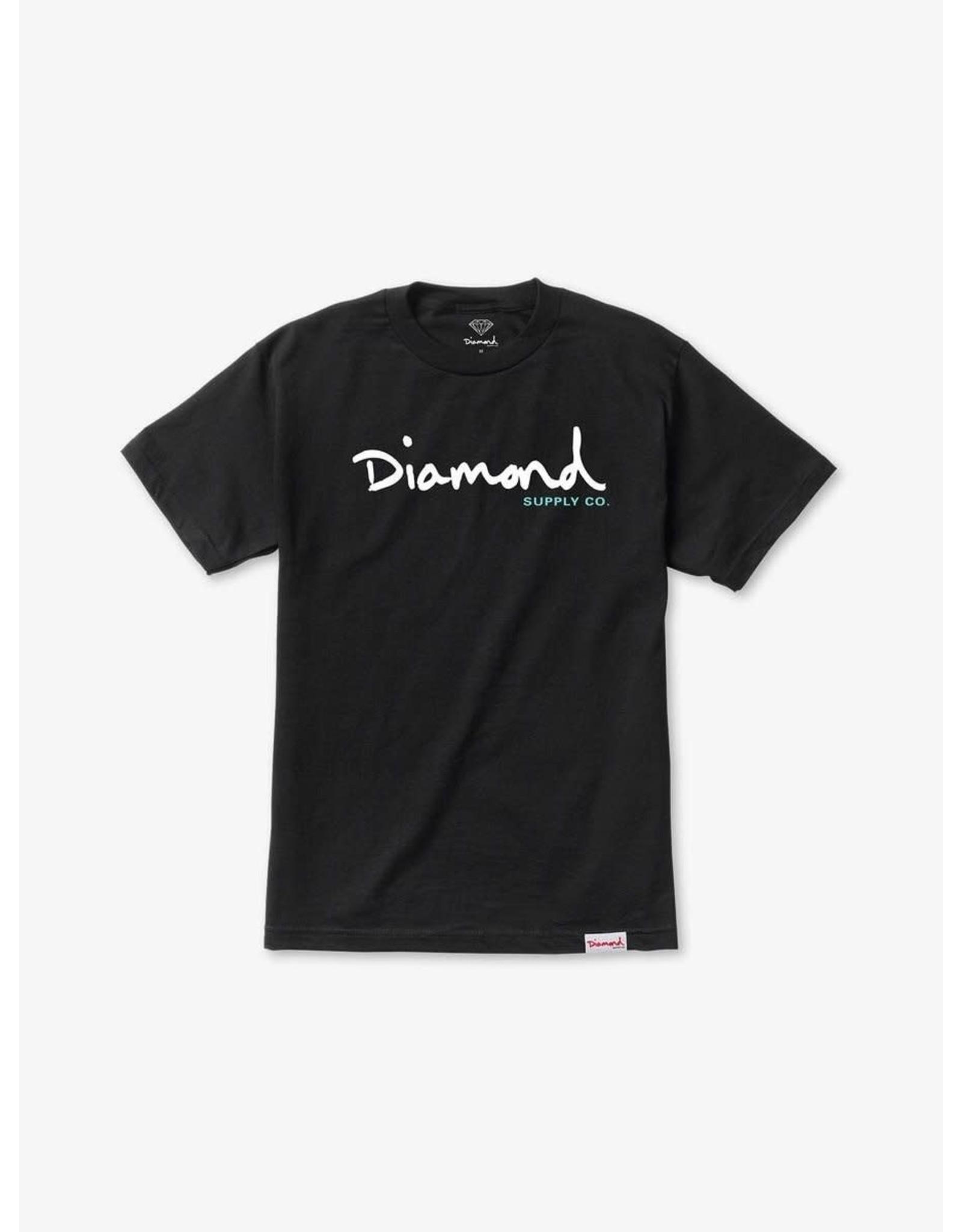 Diamond Supply Co. Diamond Supply Co.  - T-shirt homme og script black