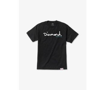 Diamond Supply Co.  - T-shirt homme og script black