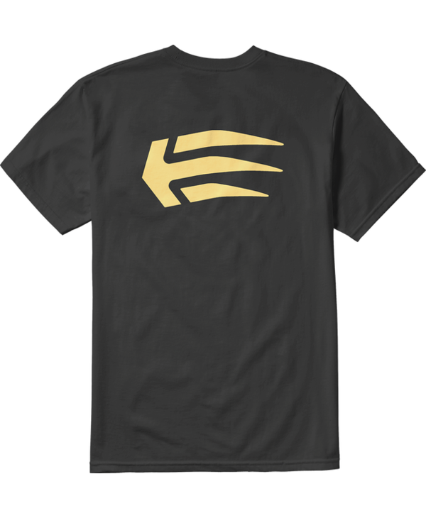 Etnies - T-shirt homme Joslin black/gold