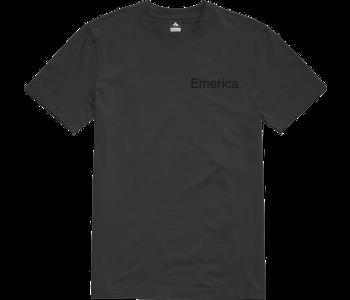 Emerica - T-shirt homme pure logo black/black