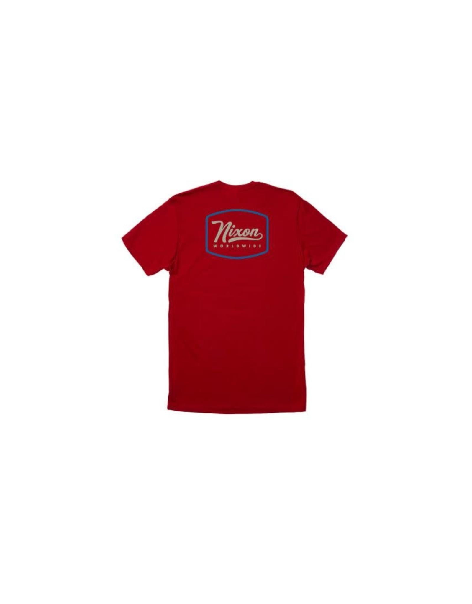 nixon Nixon - T-shirt homme looped cardinal