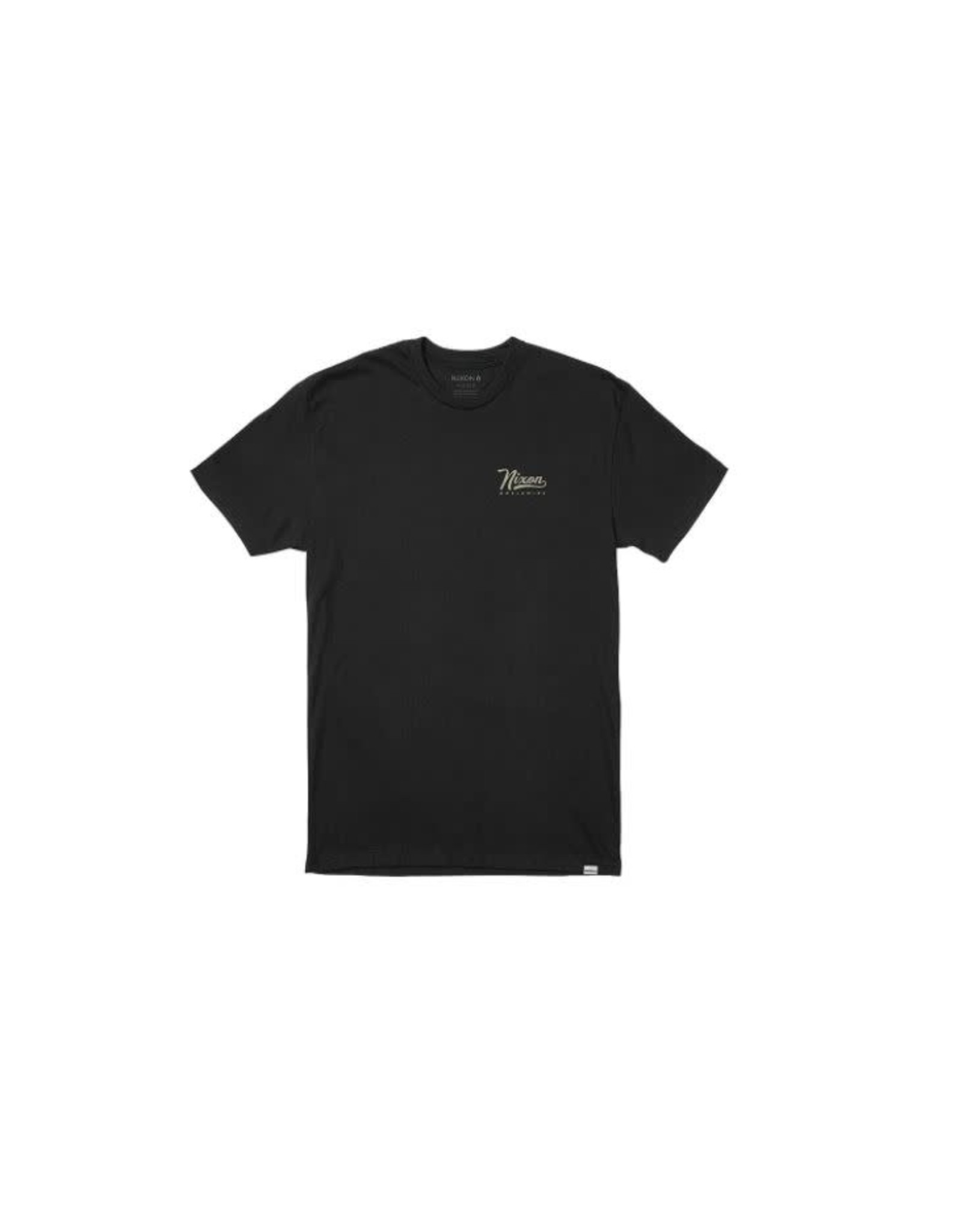 nixon Nixon - T-shirt homme looped black