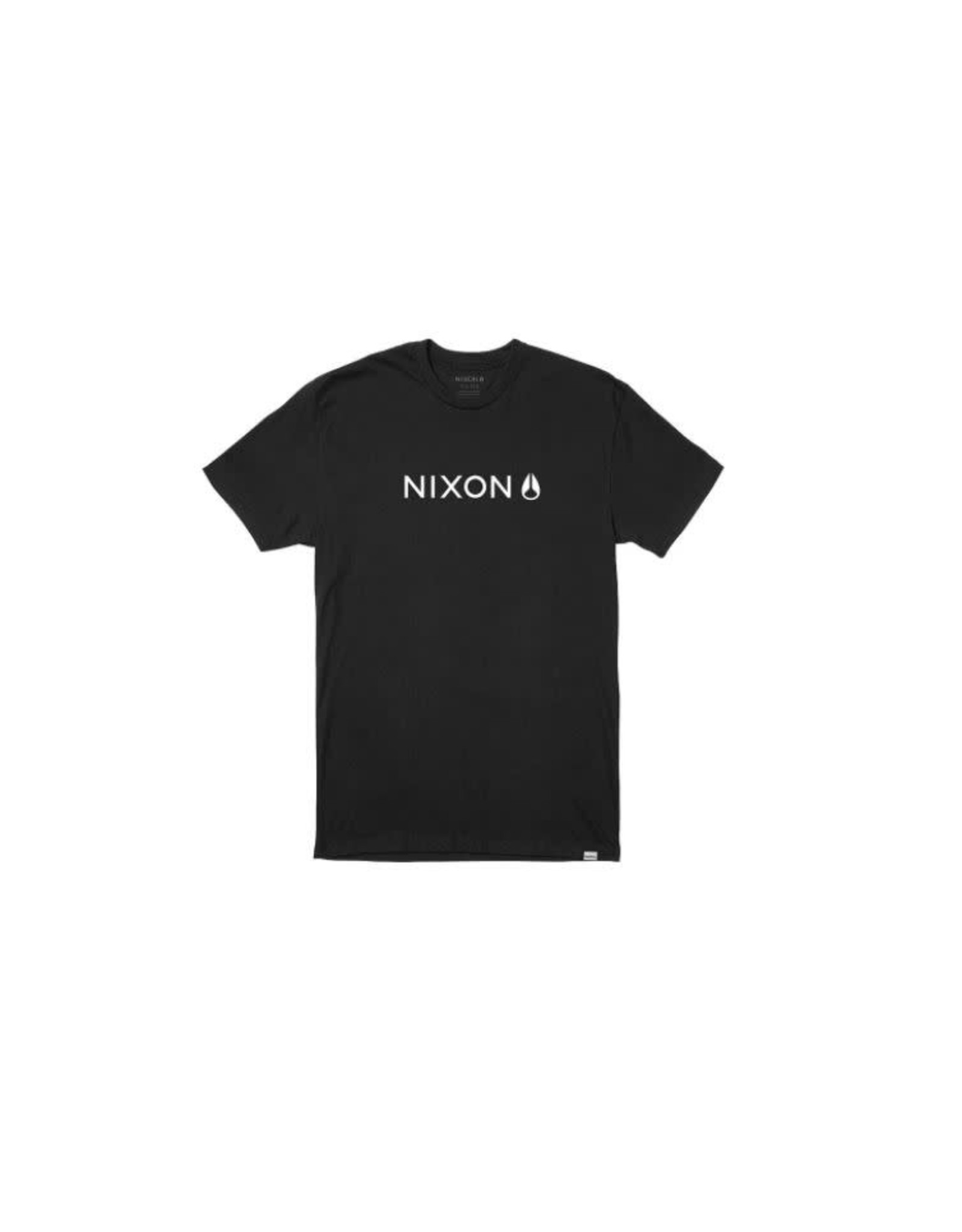 nixon Nixon - T-shirt homme basis-r black