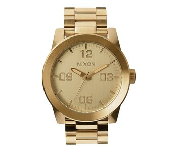 Nixon - Montre homme corporal ss all gold
