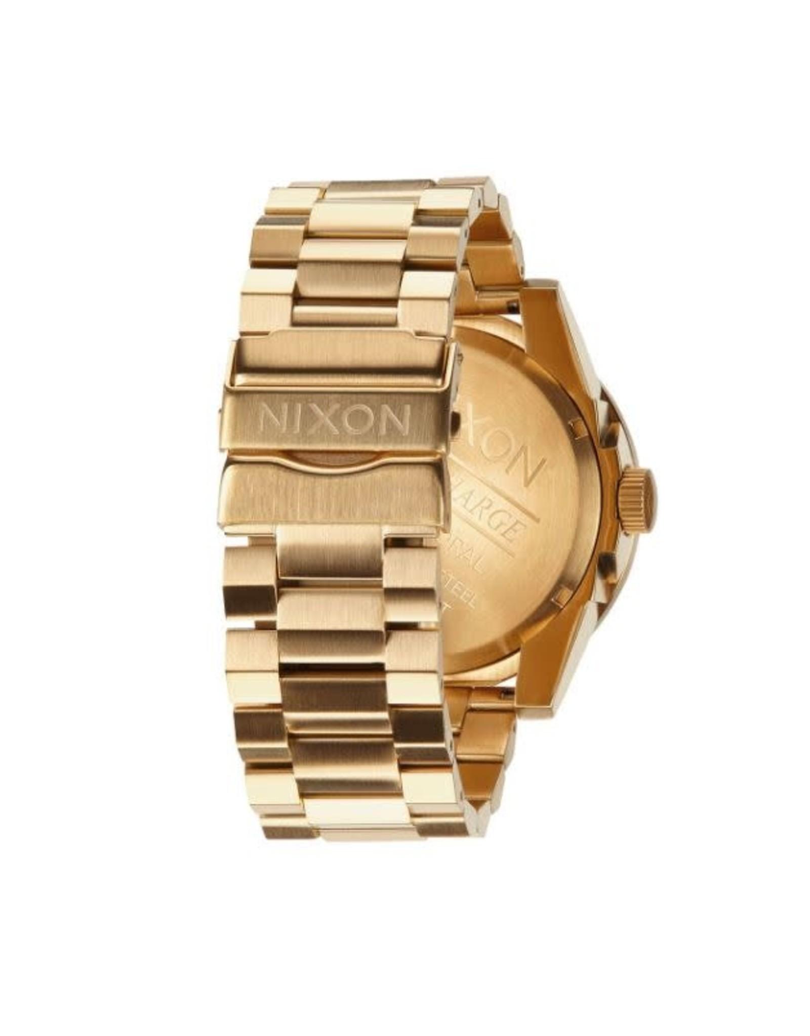 nixon Nixon - Montre homme corporal ss all gold