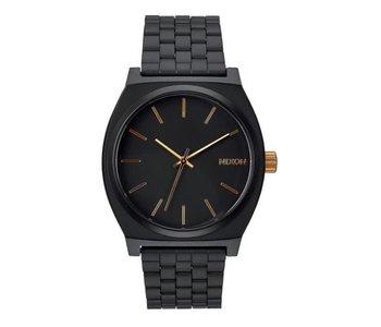 Nixon - Montre homme time teller matte black/gold