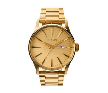 Nixon - Montre homme sentry all gold
