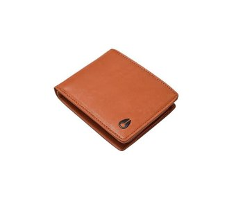 Nixon - Portefeuille homme pass leather saddle