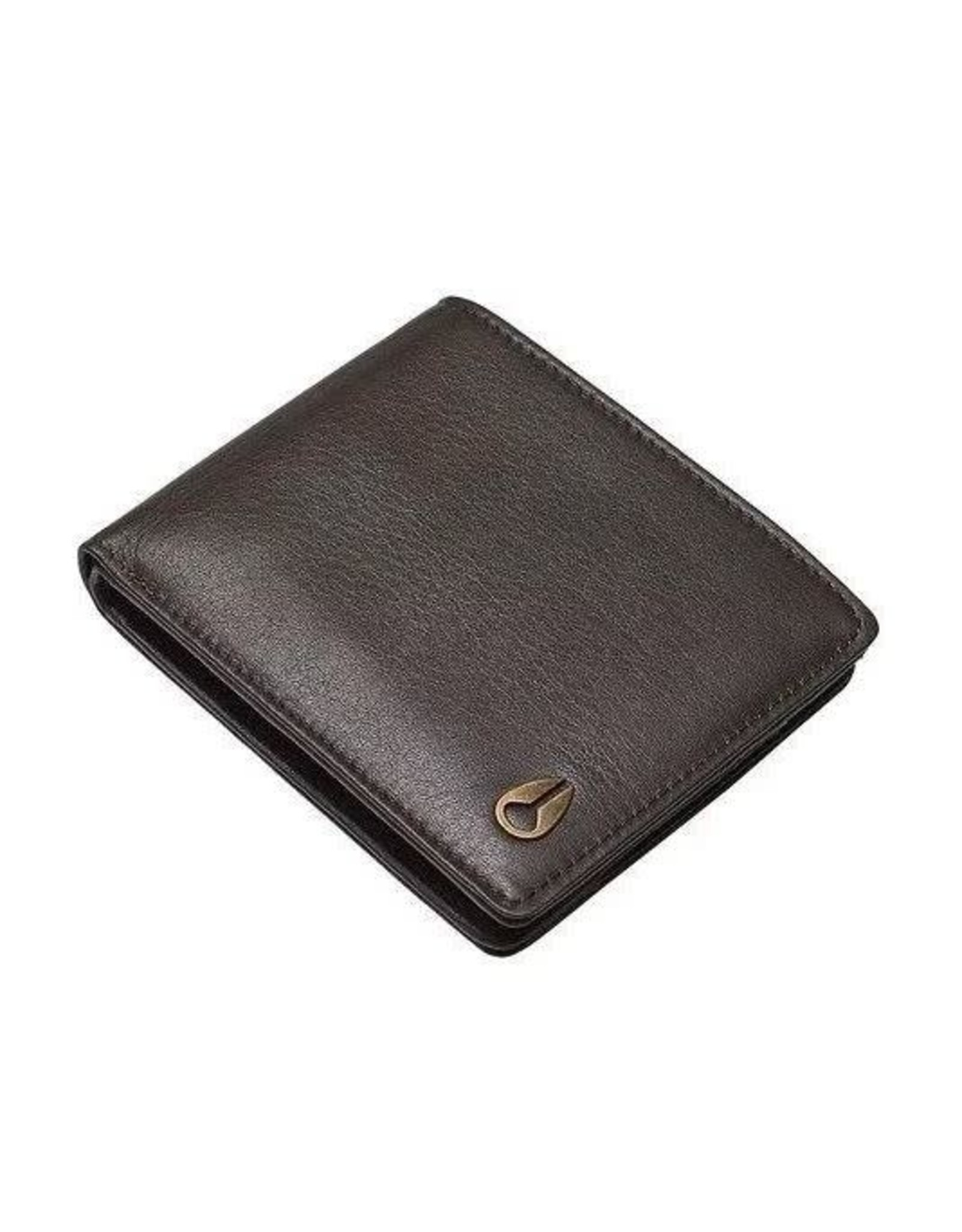 nixon Nixon - Portefeuille homme pass leather brown