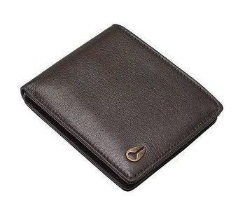 Nixon - Portefeuille homme pass leather brown