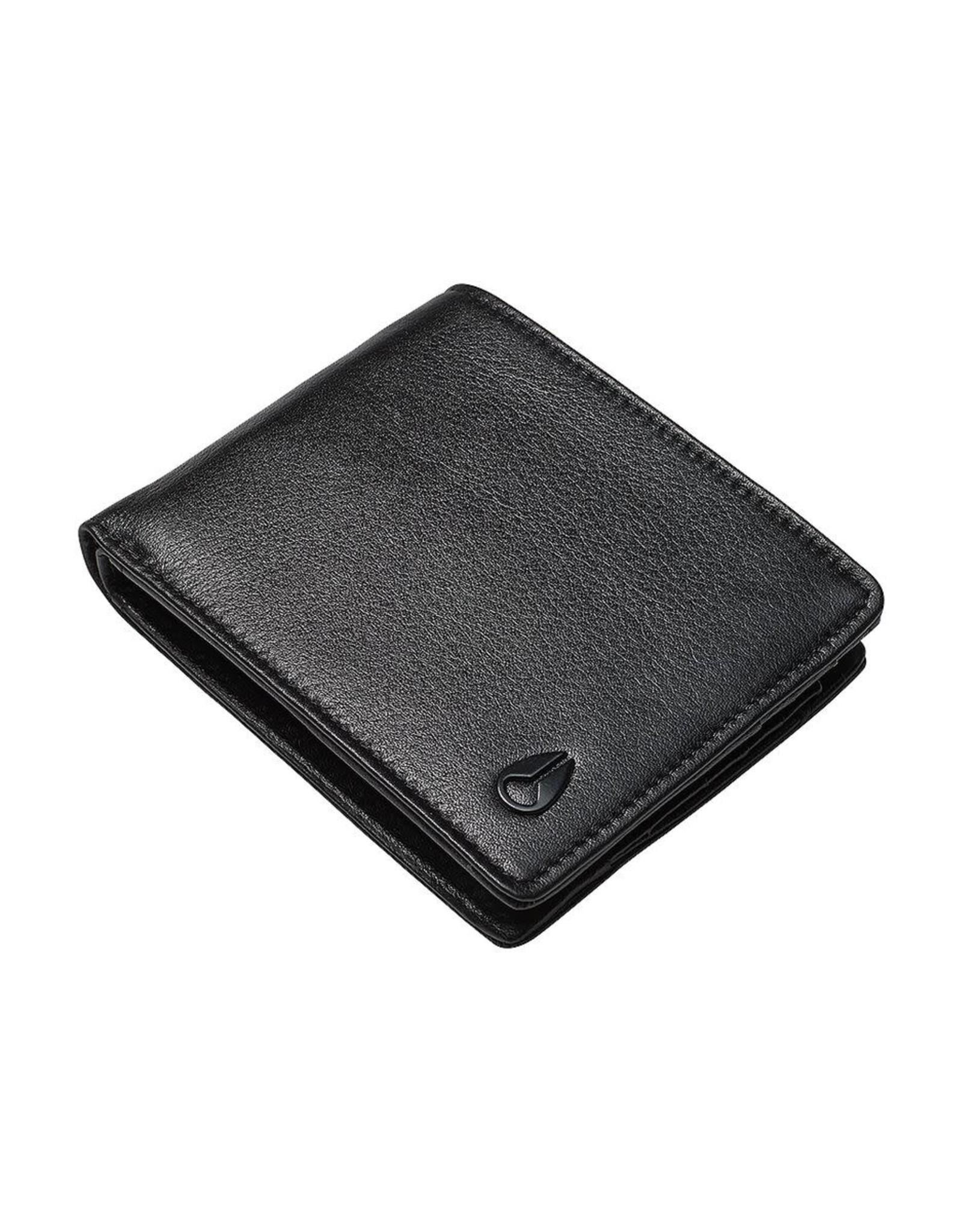 nixon Nixon -  Portefeuille homme pass vegan leather coin black