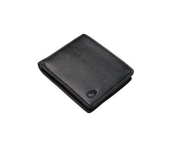 Nixon -  Portefeuille homme pass vegan leather coin black