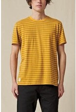 globe Globe - T-Shirt homme horizon striped honey