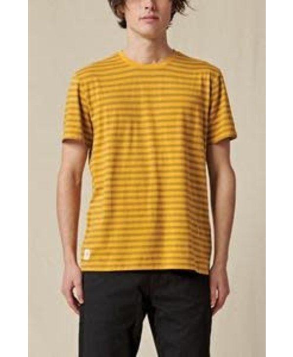 Globe - T-Shirt homme horizon striped honey