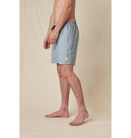 globe Globe - Maillot de bain homme hybride clean swell steel blue